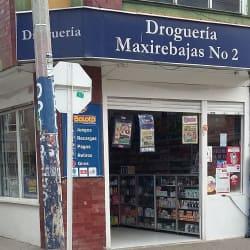 Droguería Maxirebajas No. 2 en Bogotá