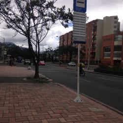 Paradero SITP Barrio Ciudad Salitre Nororiental - 142A06 en Bogotá
