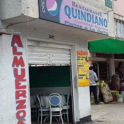 Restaurante Quindiano en Bogotá