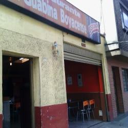Restaurante La Guabina Boyacense en Bogotá