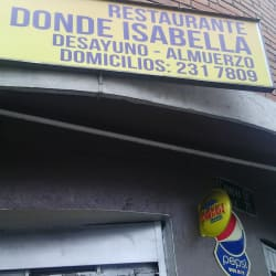 Restaurante Donde Isabella en Bogotá