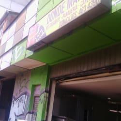 Restaurante Donde Maria E en Bogotá