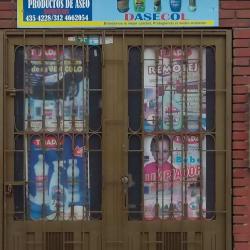 La casita del aseo en Bogotá