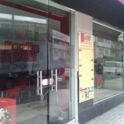 Parrilla Express Los Originales en Bogotá