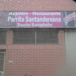 Asadero - Restaurante Parrilla Santandereana Sazón Sangileño en Bogotá