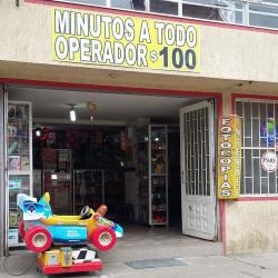 Cacharrerías y Minutos en la 95g en Bogotá