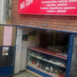 Papelería Mac Copias en Bogotá