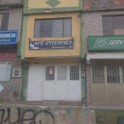 Cafe Internet Interservicio Net en Bogotá