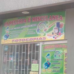 Papeleria Y Miscelanea JPS en Bogotá