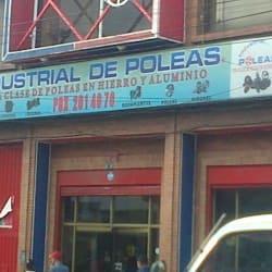 Industrial de Poleas en Bogotá