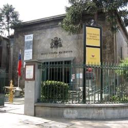 Museo Nacional Benjamín Vicuña Mackenna en Santiago