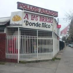 """Pollos Asados A Las Brasas """"Donde Nico"""" en Santiago"""