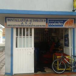 Montallantas Automático y Lubricantes JYC en Bogotá