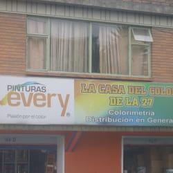 La Casa del color de la27 en Bogotá