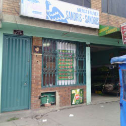 Merca fruver Sandris en Bogotá