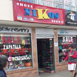 Nikos shoes en Bogotá