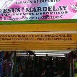 Enus Mardelay en Bogotá