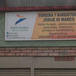 Vidrieria y Marqueteria Josue Di Marco en Bogotá
