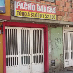 Pacho Gangas en Bogotá