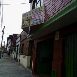 Servi Ortiz en Bogotá