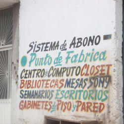 Punto De Fabrica en Bogotá