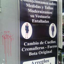Sastreria Calle 29A  en Bogotá