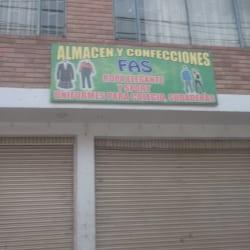 Almacen Y Confecciones FAS en Bogotá