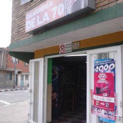 Cigarreria de la 70 en Bogotá