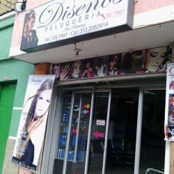 Diseños Peluqueria Ana Ramirez en Bogotá