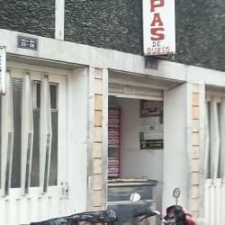 Arepas calle 66A en Bogotá