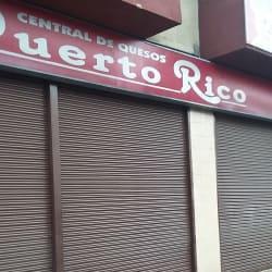 Central de quesos Puerto rico en Bogotá