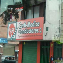 Certimedica conductores en Bogotá