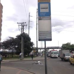 Paradero SITP Ciudad Salitre Suroriental - 128A06 en Bogotá