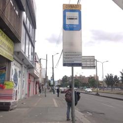 Paradero SITP Avenida Américas - 099A07 en Bogotá