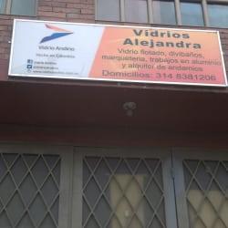 Vidrios Alejandra en Bogotá