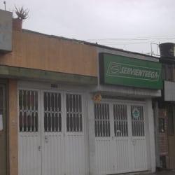 Servientrega Carrera 73A con 6 en Bogotá