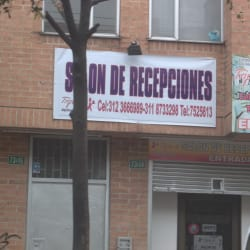 Salon de Recepciones Triple AAA en Bogotá