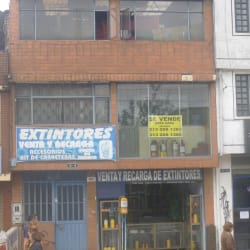 Extintores venta y recarga en Bogotá