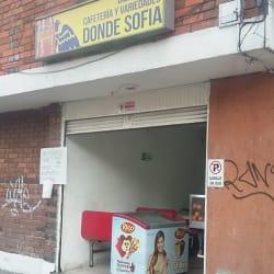 Cafetería Donde Sofia en Bogotá