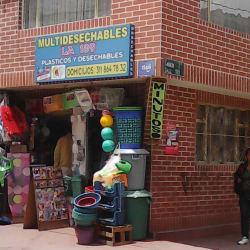 Multidesechables la 189 en Bogotá