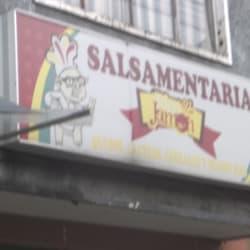 Salsamentaria Jamon Calle 8B en Bogotá