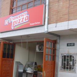 Di Francesco Pizza ogiginal italiana en Bogotá