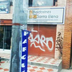 Baldosines Santa Elena en Bogotá