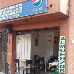 Restaurante El Rincon del Sazon Santandereano en Bogotá