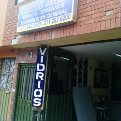 Vidrios Javier en Bogotá