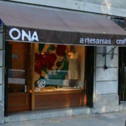 Tienda Ona Artesanía en Santiago