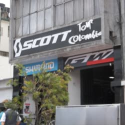Scott Tour Colombia en Bogotá