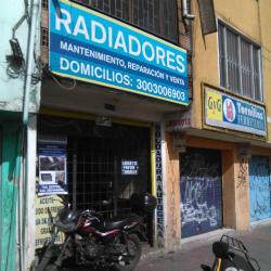 Servicio Técnico de Radiadores Jaime vargas en Bogotá