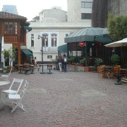 Plaza Mulato Gil de Castro en Santiago