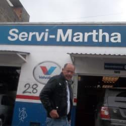 Servi Martha en Bogotá